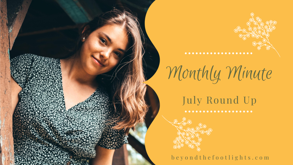 Monthly Minute July Round Up