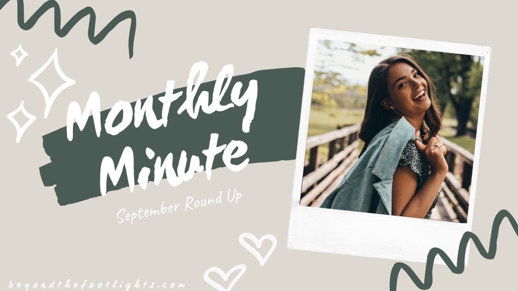 Monthly Minute September Round Up