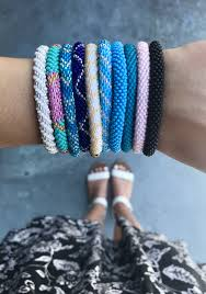 Sashka Co. Bracelets in 2020 | Bracelets handmade beaded, Glass beaded  bracelets, Handmade bracelets