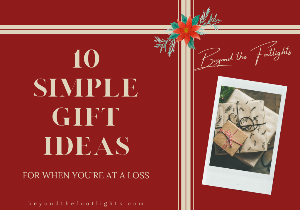 10 Simple Gift Ideas for When You're At a Loss